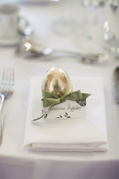 Cute place setting for Easter