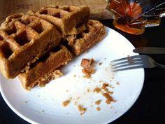 Thanksgiving Recipes : Whole wheat pumpkin waffles recipe