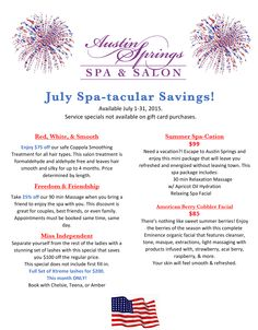 Don't miss out on these spa-tacular savings! Spa Promo, Spa Specials, Spa Menu, Promotion Ideas, Diy Body Scrub, Advertising Ideas, Salon Business, Post Quotes, Salon Services