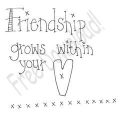 Free prim Sampler Patterns   Free Goods - Free Patterns - Samplers and Sayings - Free Friendship ...