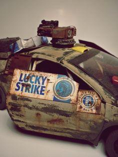 post-apocalyptic car on Behance