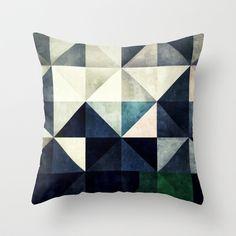 GLYZBRYKS Throw Pillow by Spires - $20.00