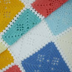Victorian lace square crochet blanket (or: what I crocheted When my ...