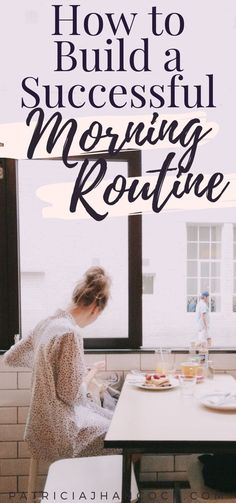 In this guide, learn what makes a successful morning routine, and how you can add it to any schedule. No matter how hectic and busy you are! These easy steps can get you started on the morning routine that is best for you and your lifestyle. Good Habits, Healthy Habits, Lifestyle Examples, Lifestyle Changes, Affirmations, Evening Routine, Night Routine, Self Improvement Tips, Self Care Routine