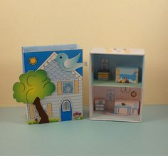 Match Box House Number 12 Doll House. by PaperCottagePrinties. New Match Boxes you make yourself. $ 2.00 and up. Print them out. Cut them by hand from .pdf files or use your cutting machine. .svg files work on most cutting machines. Find the Match Box for .20 cents