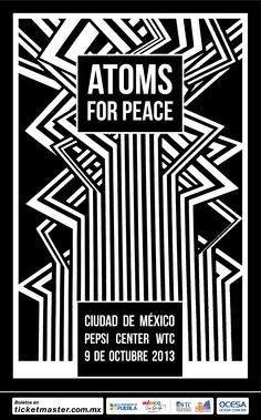Atoms For Peace, 9 de Octubre, Pepsi Center WTC #AFPMx