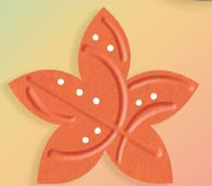 Marvy - Clever Lever - Silhouette Embossing Craft Punches Holiday Flower 2in