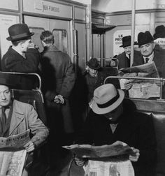 Metro Paris 1930 (Photo Roger Schall)