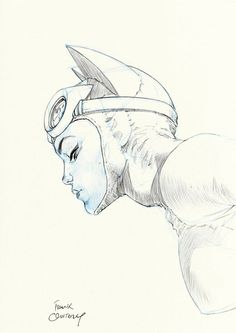 The World's Greatest, failed-mad-scientist:   Catwoman - Frank Quitely