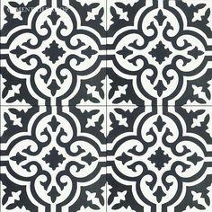 Cement Tile Encaustic Bordeaux
