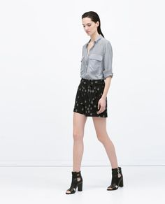 ZARA - WOMAN - BERMUDA SHORTS WITH BELT