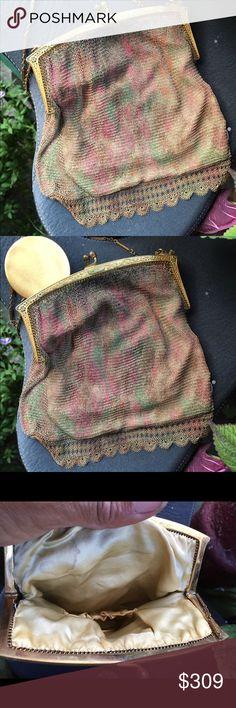 Spotted while shopping on Poshmark: Vintage beautiful mesh purse! #poshmark #fashion #shopping #style #Vintage #Handbags