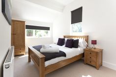 Wake up in your beautiful light and spacious double bedroom!