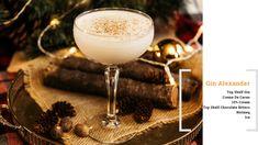 Gin Alexander #cocktails #cocktail #recipe #recipes #holidays #gin #alexander