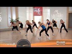 Peak 10 cardio interval training Michelle Dozois