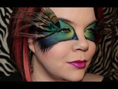 Halloween-Peacock Masquerade