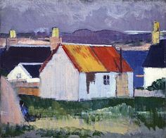 Cadell, Francis, (1883-1937), Iona Croft, 1925, Oil