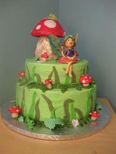 Woodland Fairy Cake | Woodland Fairy birthday cake — Children's Birthday Cakes