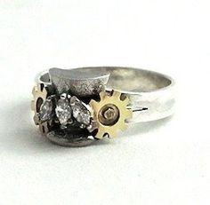 steampunk wedding ring
