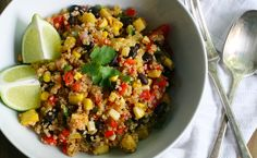 Simple Mexican Quinoa Bowl | Care2 Healthy Living