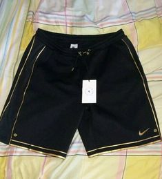 f9ae8e28 NIKELAB X OLIVIER ROUSTEING Rare BALMAIN All BLACK & GOLD Trim Basketball  Shorts #fashion #clothing #shoes #accessories #mensclothing #shorts (ebay  link)