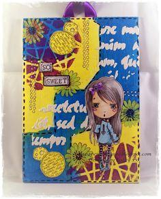 Nins Handmade Cards: #86 Madeline