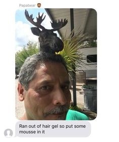 There are good jokes, there are great jokes, and then there are DAD JOKES. Best Dad Jokes, Great Jokes, Joke Of The Week, Dad Humor, Funny Text Messages, Hair Gel, Try Not To Laugh, Oui Oui, Funny Texts