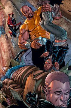 Luke Cage vs Captain America | Luke Cage