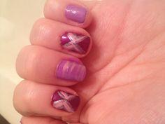 Purple line designs