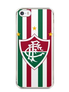 Capa Iphone 5/S Time Fluminense #1 - SmartCases - Acessórios para celulares e tablets :)