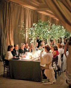 """See the """"At the Table"""" in our A Winter Wonderland Destination Wedding in Colorado gallery"""