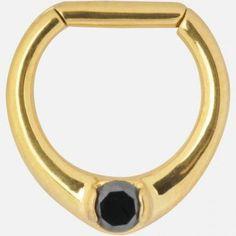 Septum Clicker, Piercing Septum in acciaio chirurgico dorato con zircone Nero .Piercing da Setto nasale Micromutazion http://www.amazon.it/dp/B017SV99YQ/ref=cm_sw_r_pi_dp_aTDqwb1C0BQ2R