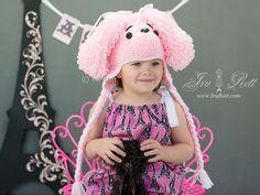 Crochet Animal Hats & Crochet Patterns by Irarott Crochet Animal Hats, Crochet Kids Hats, Crochet For Boys, Crochet Clothes, Crochet Baby, Knit Crochet, Puppy Hats, Crochet Patterns