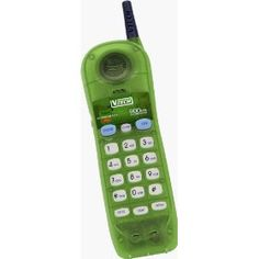 See-through V-tech phones from the 2000s!!! Not 90's but still part of my childhood