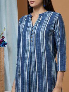 Salwar Designs, Kurta Designs Women, Kurti Designs Party Wear, Neck Designs For Suits, Dress Neck Designs, Designs For Dresses, Blouse Designs, Simple Kurta Designs, Kurta Patterns