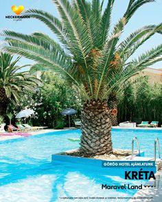 Maravel Land 🧡🧡🧡+ Görögország, Kréta-Heraklion, Rethymnon-strand  www.neckermann.hu/szallas/maravel-land/53163?catalog=NAH  A Hotel Maravel Land központi, ugyanakkor nyugodt helyen, a kb. 10 km hosszú Adelianos Kambos partszakaszon fekszik. A közvetlen tengerparti, kedves, kis szálloda ideális a szórakozásra vágyóknak. A strandon különböző vízi sportok, Rethymnonban változatos kikapcsolódási lehetőségek várják a vendégeket. Naha, Marvel, Outdoor Decor