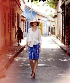 This combines two places I love - Anthropologie and Cartagena, Colombia. Love!