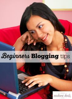 So you want to start blogging? Well then you need to check out these Beginners Blogging tips to help you get started!