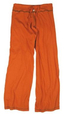 TwOOwls Orange/Brown Womens Wide Leg Pant M/L-100% organic cotton TwOOwls. $56.00