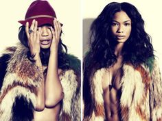 Chanel Iman, beautiful model, been a favorite since she modeled for Gap