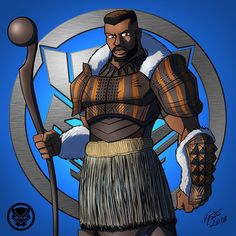 Black Panther: M'Baku by jonathanserrot on DeviantArt