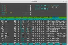 11 Linux Terminal Commands That Will Rock Your World: Use htop To View And Manage Processes