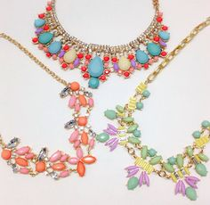 Make a statement with one of these #iheartshimmer necklaces!  www.iheartshimmer.com