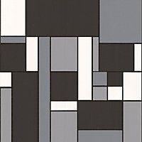 Contour Geo Wallpaper - Black