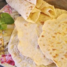 Norwegian Lefse (A Norwegian tradition in my family! We always spread butter on them and rolled them up with meatballs. Comfort food at it's best! Allrecipes.com