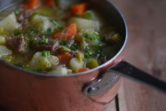 Lobscouse (lapskaus) is a stew many people think of as Norwegian. But what is the taste of home in Oslo, Norway, is also the taste of home in Liverpool. Slow Cooker Recipes, Soup Recipes, Salt Pork, Norwegian Food, Scandinavian Food, Smoked Ribs, Root Vegetables, Taste Of Home, Liverpool