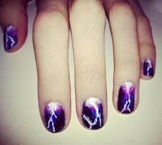Lightning Nails  http://nailsbymellissa.blogspot.co.uk/  Follow for unique nail designs.