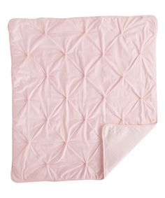 Love this Pink Pin Tuck Comforter by Living Textiles Baby on #zulily! #zulilyfinds
