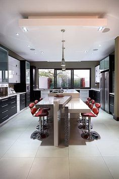 Micah Kitchens designs and creates another Inspiring Living Space. Ultra-modern kitchen is on the cutting edge design. Edge Design, Kitchen Design, Living Spaces, Kitchens, Live, Create, Modern, Inspiration, Cuisine Design