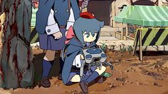 Finally had some time for anime and found this little gem from Studio Trigger. This anime was so ...